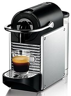 Nespresso De'Longhi Pixie EN125S - Cafetera monodosis de cápsulas Nespresso, 19 bares, apagado automático, color plata (B004JV77QQ) | Amazon price tracker / tracking, Amazon price history charts, Amazon price watches, Amazon price drop alerts