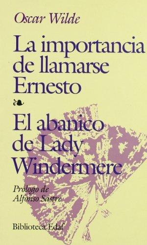 Portada del libro Importancia De Llamarse Ernesto,La (Biblioteca Edaf)