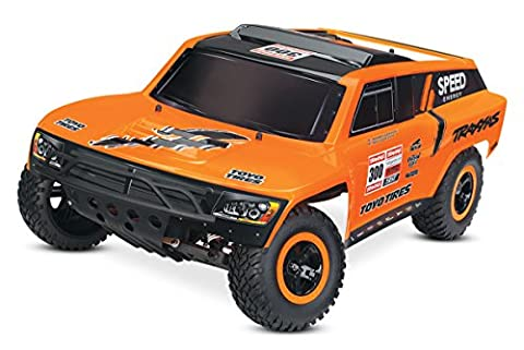 Traxxas TRX58044-1 Slash Robby Gordon–RTR Monster Truck with 12V Charger–Black