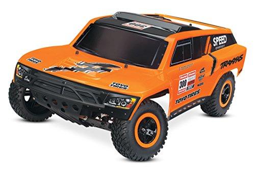 Traxxas TRX58044-1 - Slash Robby Gordon RTR Monster Truck inklusive 12 V Ladegerät, schwarz