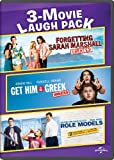 3-Movie Laugh Pack: Forgetting Sarah Marshall / Get Him to the Greek / Role Models [Edizione: Francia]
