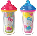 Munchkin 9 Ounce Hello Kitty Click Lock Insulated Sippy Cup (2 Count)