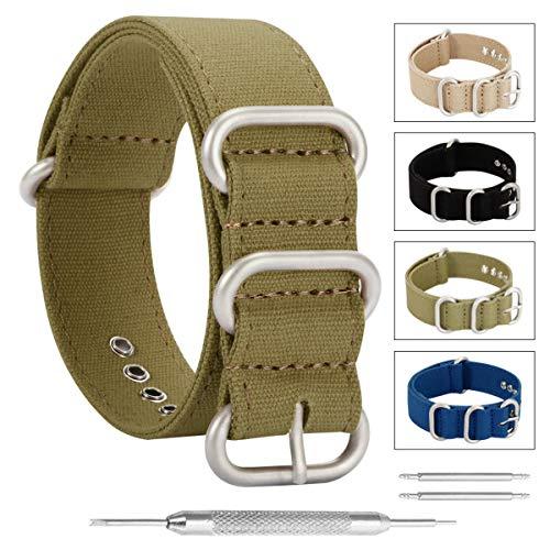 cinturini per orologi stile di un pezzo della NATO esotico tela degli...