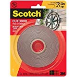 3m Scotch 4.44m Double side Outdoor Mounting Tape 15lb- 1 inch