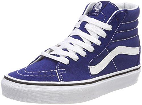 Vans Unisex-Erwachsene Sk8-Hi Hohe Sneaker, Blau (Estate Blue/True White Q9w), 44.5 EU