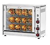 Bartscher - Elektrische Kippengrill voor twaalf kippen