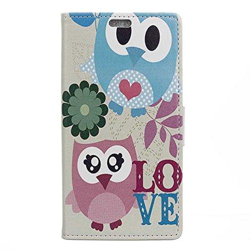 PU Leder Etui Hülle im Bookstyle Handy Tasche für HTC One A9S Schutzhülle Schale Flip Cover Wallet Case (WD-04#)