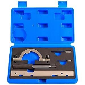 5 tlg opel arrtierwerkzeugsatz steuerkette werkzeug. Black Bedroom Furniture Sets. Home Design Ideas
