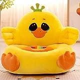 IIWOJ Halloween Weihnachtsgeschenk Gelb Kindersitz Plüsch Chick Sofa