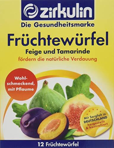 Zirkulin Naturheilmittel Früchtewürfel mit Feige, Pflaume und Tamarinde, 6er Pack (6 x 120 g)