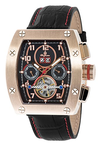 Burgmeister BM358-332 Lucan, Gents automatic watch, Analogue display - Water resistant, Stylish leather strap, Classic men's watch