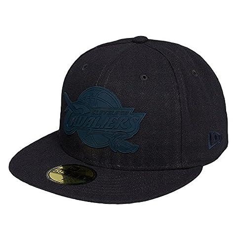 New Era NBA CLEVELAND CAVALIERS Team Rubber Logo 59FIFTY Cap, Größe:7 3/8