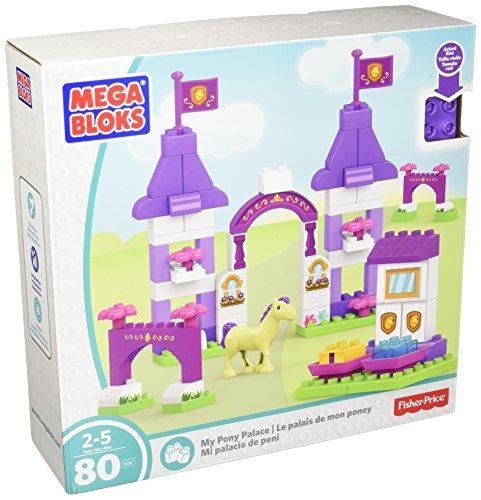 Mega Bloks My Pony Palace Palast Building Set