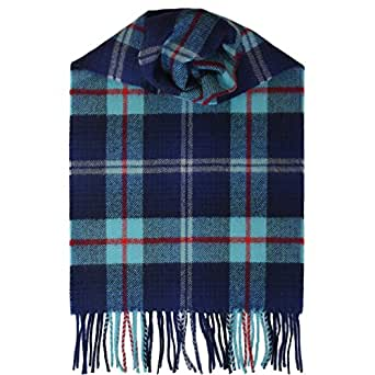 Help for Heroes Brushed Wool Tartan Scarf made in Scotland