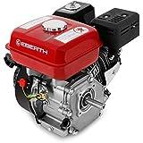 EBERTH 6,5 CV / 4,8 kW Motor de gasolina de 4 tiempos 19,05mm
