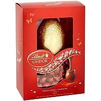 Huevo de chocolate con leche Lindt Lindor con mini huevos de chocolate con leche Lindor 215g