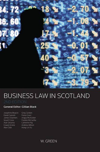 By Gillian Black - Business Law in Scotland (2nd Revised edition)