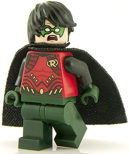 ECHT Lego DC Superhelden GRÜN HOSEN ROBIN Minifigur - SH195 TEILUNG von 76034 Set (Lego 2015 Batman-sets)