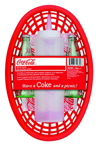 coca-cola-picnic-pack-with-baskets-salts-dispensers-and-liners