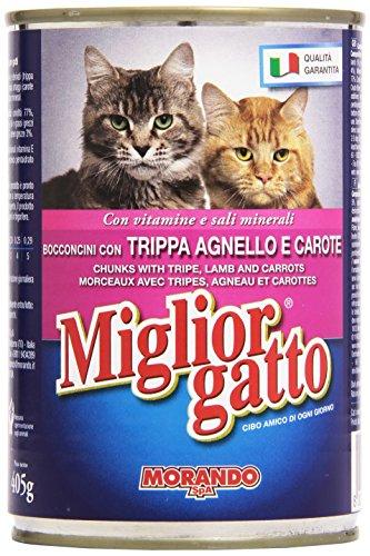 Migliorgatto Alimento Completo Per Gatti Bocconi Con Trippa