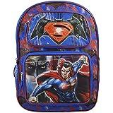 """DC Comics Batman Vs Superman Boys' 16"""" Deluxe School 3D Pop Out Backpack Book Bag"""