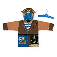 Kidorable Kids Pirate Raincoat (Large (116-122cm 5-6 Years))