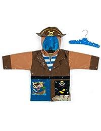 Kidorable Kids Pirate Raincoat Small/Medium 92-98cm 3-4 years