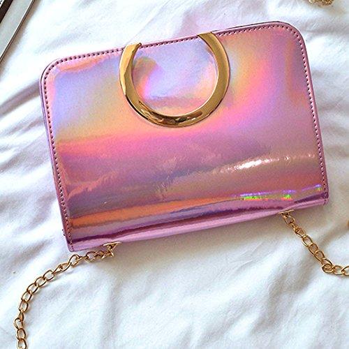 Millya, Borsa a tracolla donna, pink (rosa) - bb-00478-02 pink