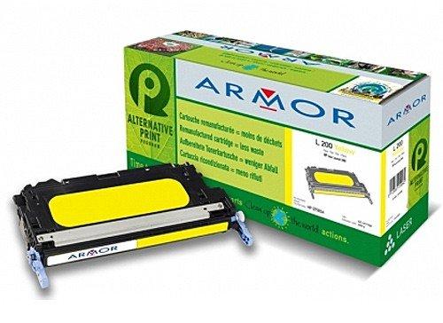 Für HP Color Laserjet 3800 DN - Yellow (XXL) Farbtoner, Armor Colortoner Farblasertoner wiederaufbereitet, Toner für 3800DN, 6000S. -