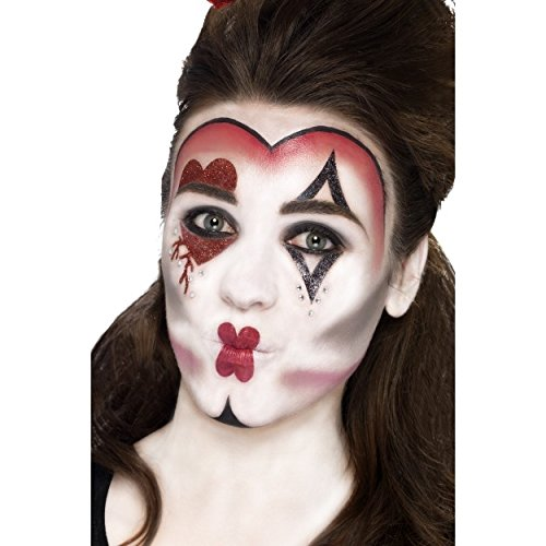 Queen Of Hearts Make-Up Kit, with Face Paints
