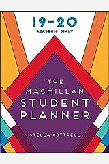 The Macmillan Student Planner 2019-20 (Macmillan Study Skills) Calendar