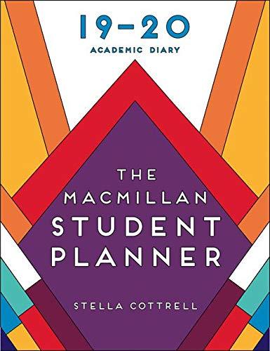 The Macmillan Student Planner 2019-20: Academic Diary (Macmillan Study Skills)