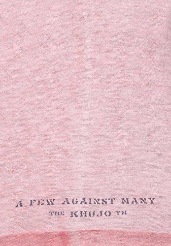 khujo Herren Shirt TREAT 2270TS161_ME28 rosa (ME48CORA-M)
