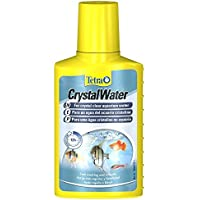 Tetra Crystal Water for Crystal Clear Water Fish Tank, 100 ml
