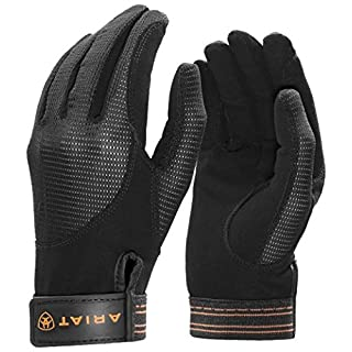 Ariat Air Grip Gloves Black 7 1/2