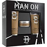 Bed Head for Men by Tigi Mens Gift Set with Shampoo Conditioner and Hair Wax