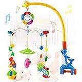 Bebé móvil musical de dibujos animados colgar Sonajero y Mordedor juguetes por Beby