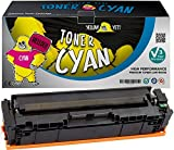 Yellow Yeti 201X CF401X (2300 Seiten) Cyan Premium Toner kompatibel für HP Color LaserJet Pro MFP M277dw M277n M274n M252dw M252n [3 Jahre Garantie]