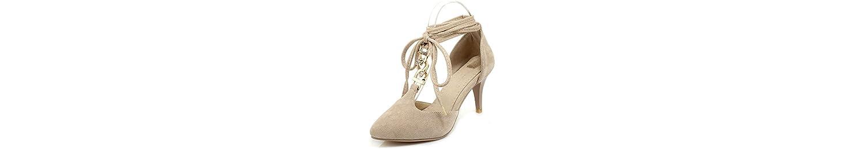 VIVIOO Tacón Alto Zapatos De Las Mujeres De La Bomba Zapatos De La Boda del Partido De La Moda del Dedo del Pie... -