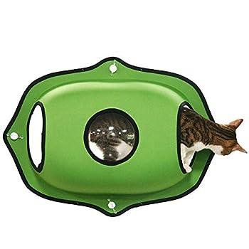 Myyxt Hamac de fenêtre de chat Durable Robuste avec ventouse forte Sac spatial NID mat de chat , A
