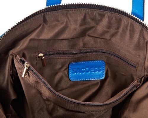 Saccess Deatoboato, sacs bandoulière Bleu - Blau (blue)