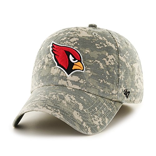 47 Brand NFL Arizona Cardinals Officer Franchise Fitted Hat Large Digital Camo -