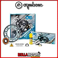 155839000 KIT CATENA CORONA PIGNONE OE BETA RR 50 Factory 2005-2011 50CC