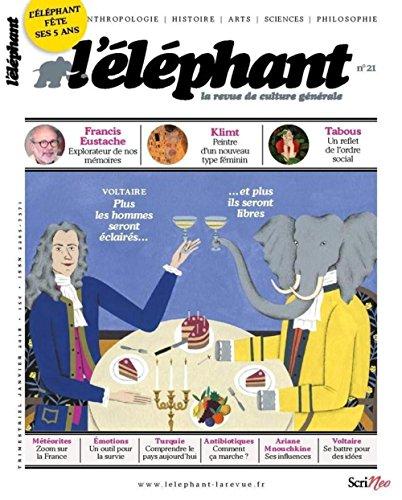 L'éléphant - la revue de culture générale - numéro 21 (21)
