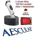 Rotschopf24 Edition: AESCULAP Li-Io Akku Tierschermaschine GT405 Akkurata. Netz- + Akkubetrieb! + Tasche