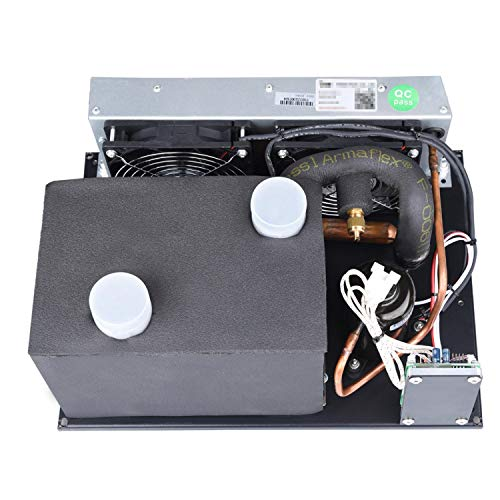 Sistema de refrigeración portátil Micro DC acondicionador de aire, DC 12V 450W R134A refrigerante...