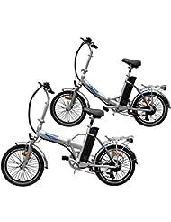 Ein Paar (2 Stk.) 20 Zoll SWEMO Alu Klapp E-Bike / Pedelec SW100 & SW200 Modell 2016