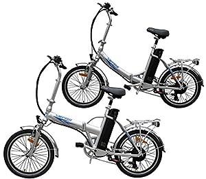 Ein Paar (2 Stk.) 20 Zoll SWEMO Alu Klapp E-Bike / Pedelec SW100 & SW200 Neu (Silber)