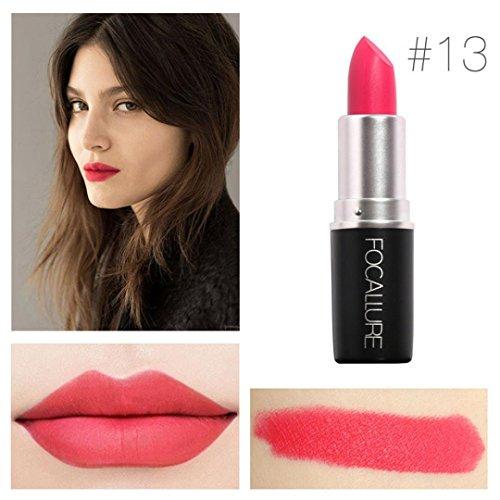 Yogogo - Rouge à lèvres - Nouveau Cosmétiques Mode Métalliquepour maquillage beauté longue durée 13#