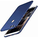 BLACKCASE 4 Cut Style Back Cover For Huawei Honor 9 Lite - (Blue)